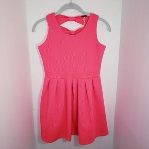 Poof Girl Dress Textured Girl's XL NEW